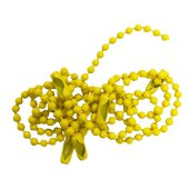 Key Chains - Yellow Coated Steel
